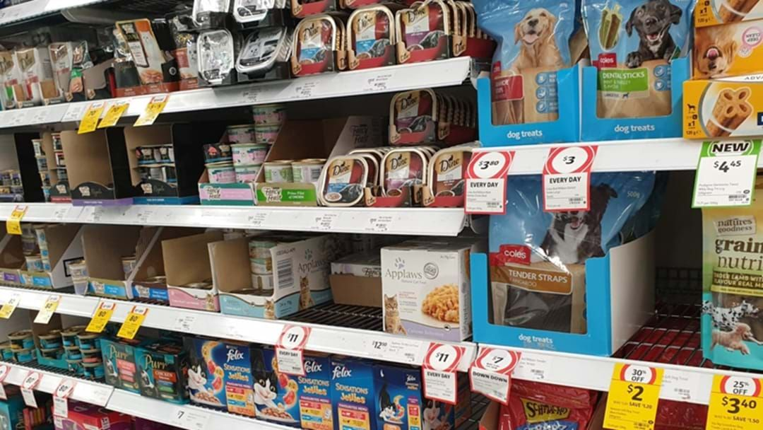 Article heading image for Pet Food Shelves Are Empty In Most Supermarkets Across Australia