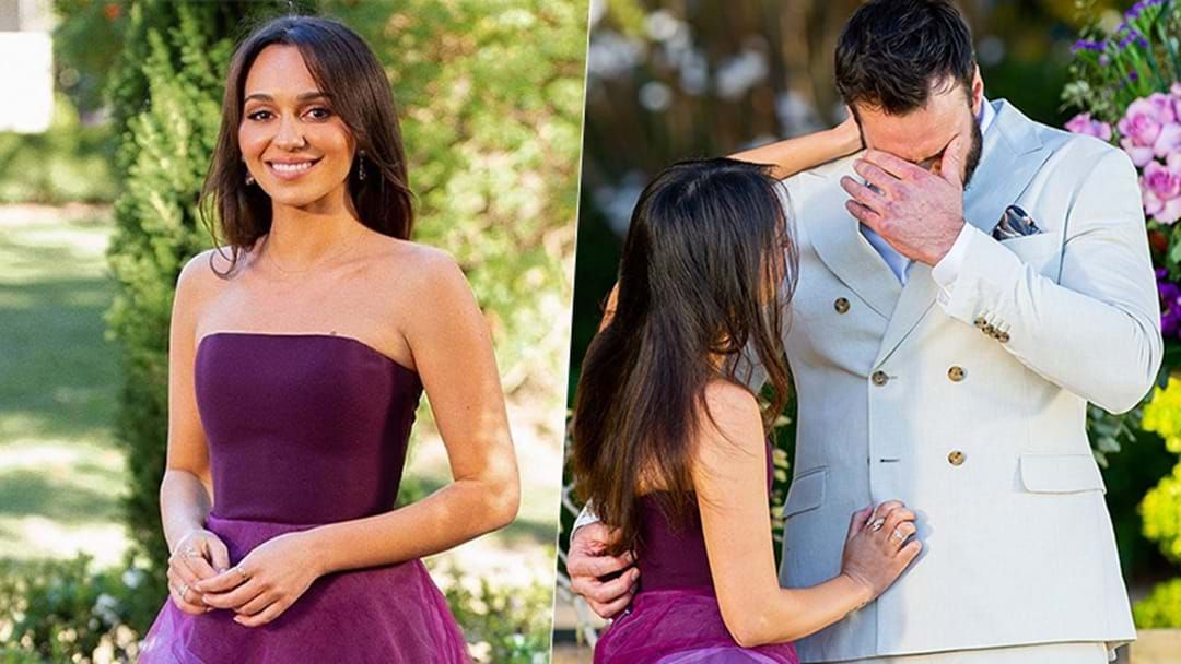 Article heading image for The Bachelor's Bella Reveals The Moment She Knew Locky Wasn't Being 100% Honest With Her
