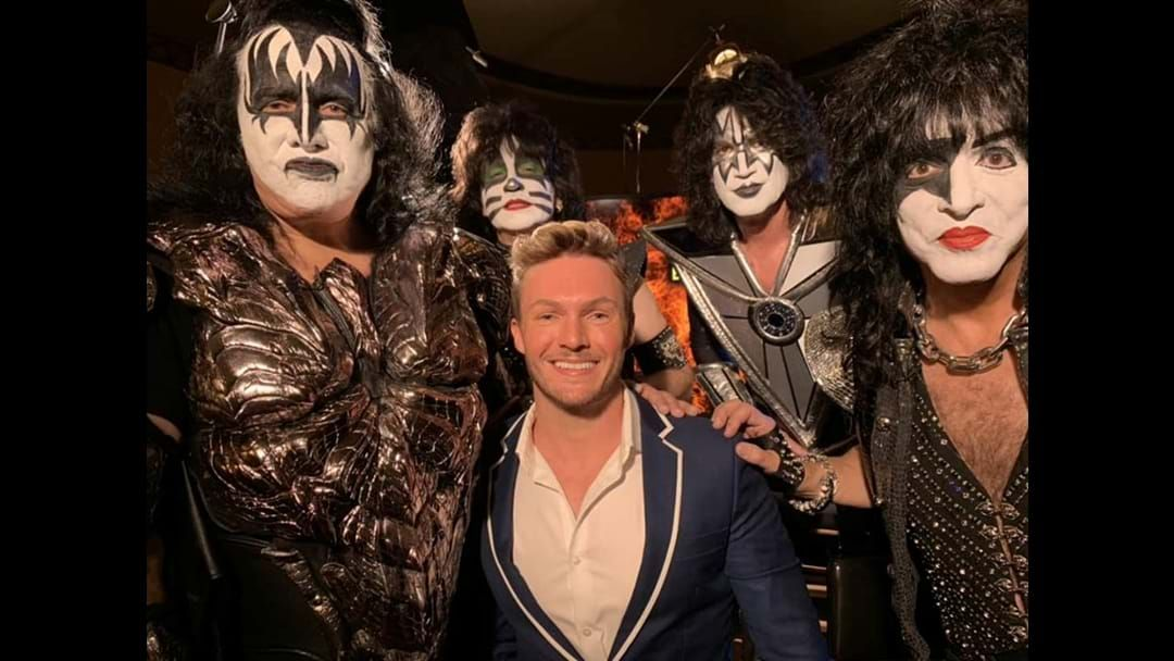 Article heading image for Dean McCarthy caught up with KISS before coming down under
