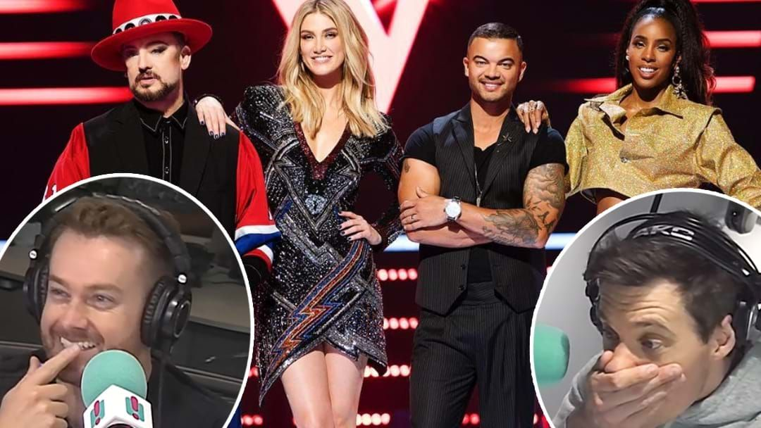 Article heading image for Police Called To The Voice Australia Set