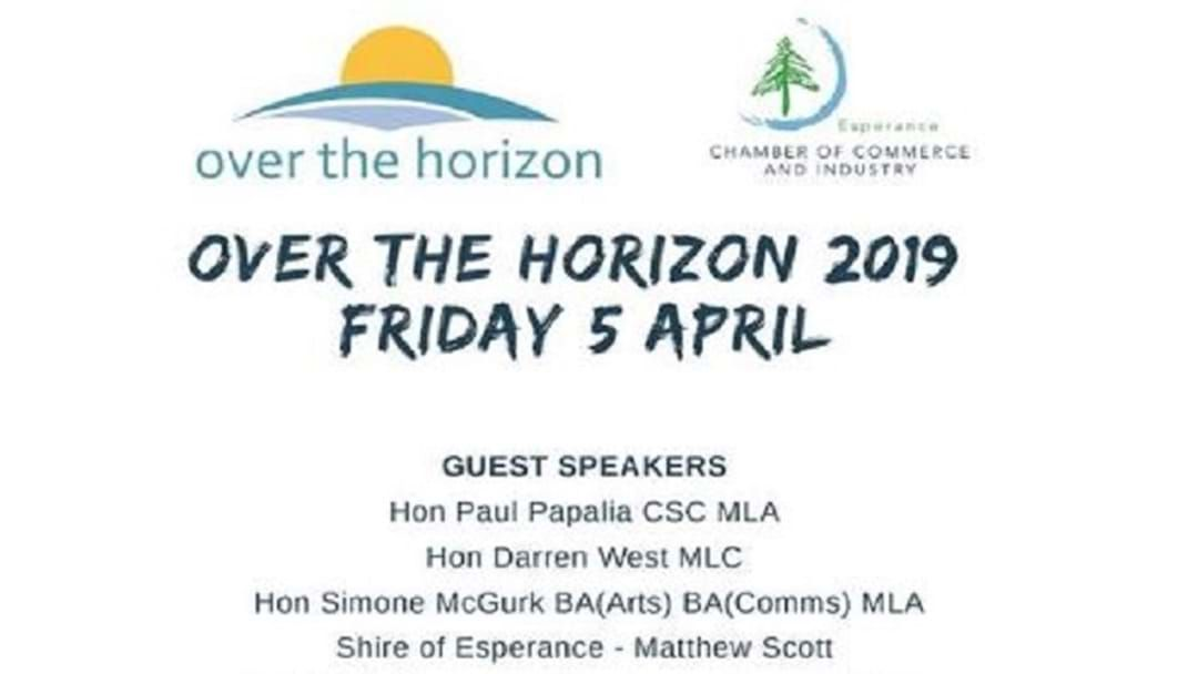 Article heading image for Esperance Business Event - Over the Horizon 2019