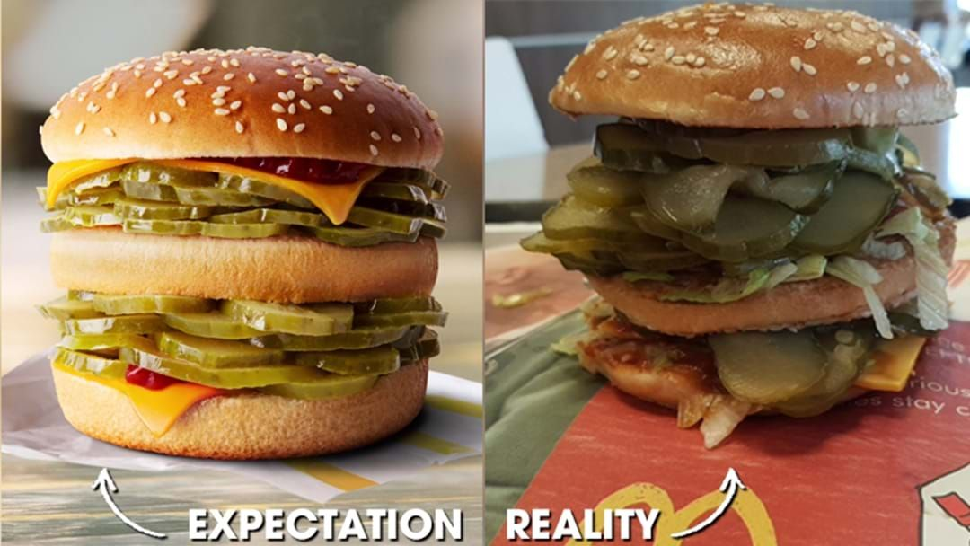 """Article heading image for An Aussie Bloke's Figured Out How To Actually Order McDonald's Gag """"McPickle"""" Burger"""