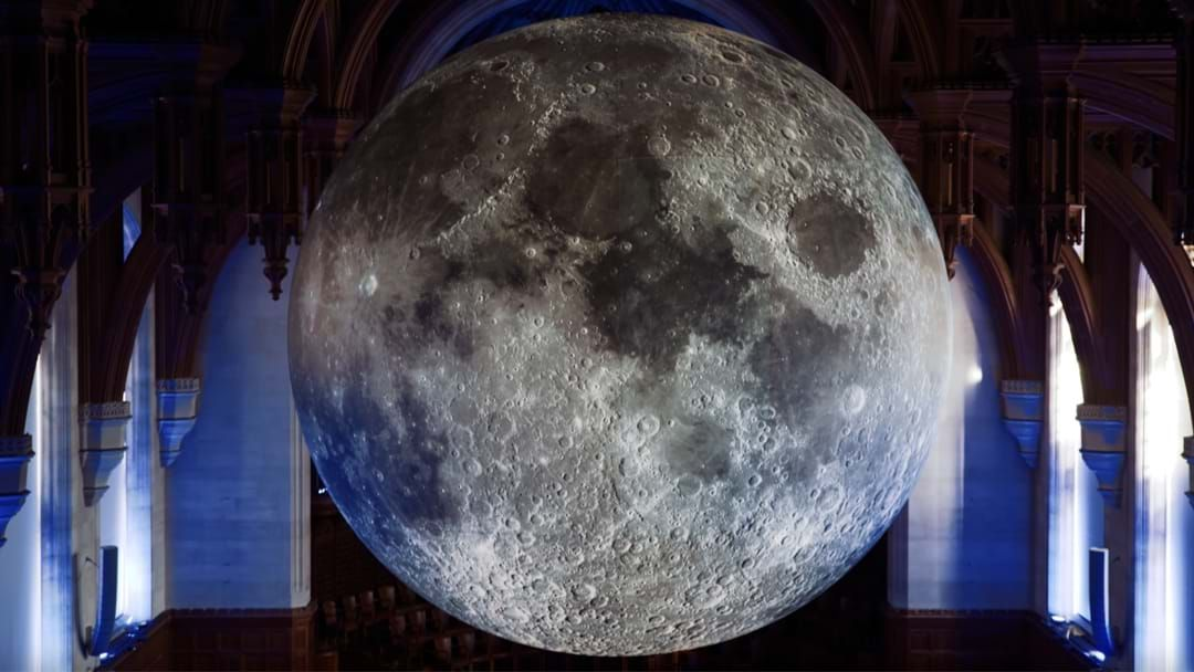 Article heading image for The Museum Of The Moon Is Coming To Sydney Next Weekend