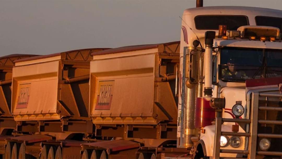 Article heading image for Truck Driver Passes Away Following Road Train Collision