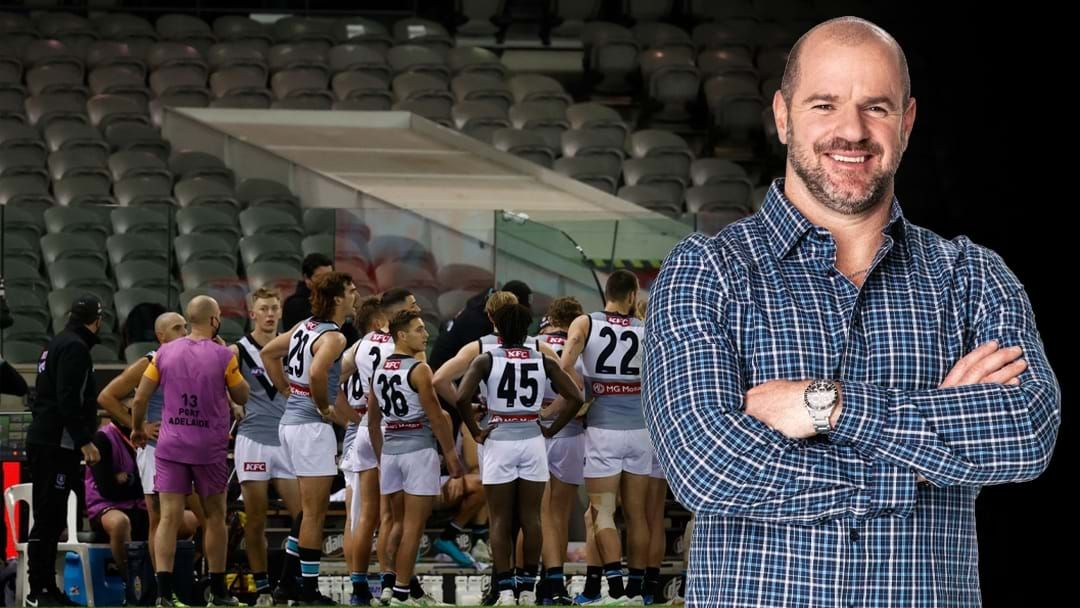 Article heading image for Mark Ricciuto On The AFL's Financial Uncertainty