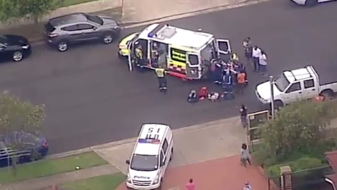 Article heading image for Young Boy Rushed To Hospital After Roller Door Accident In Quakers Hill