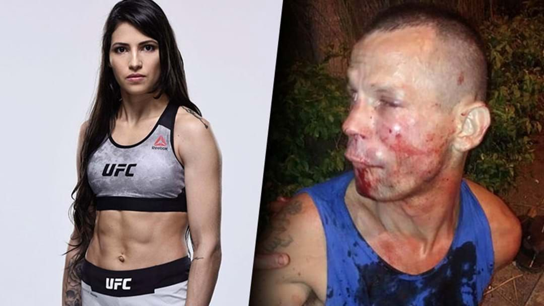 Article heading image for A Bloke Tried To Mug A Woman Who Turned Out To Be A UFC Fighter And Got Completely Owned