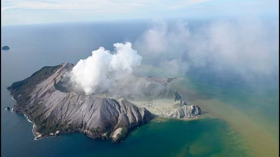Article heading image for The White Island Volcanic Eruption Hospitalises 13 Aussies With Another 11 Still Missing