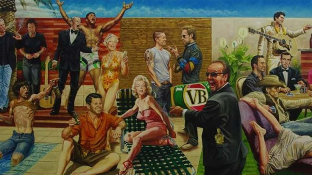 Article heading image for Shane Warne Says He's Getting A New Version Of His Famous BBQ Mural Made