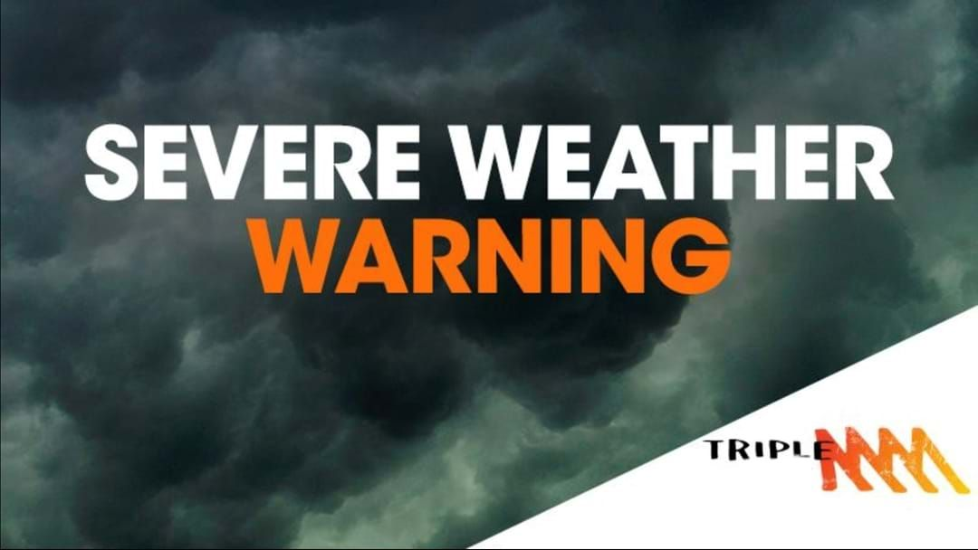 Article heading image for Bendigo Has Been Issued A Severe Weather Warning!