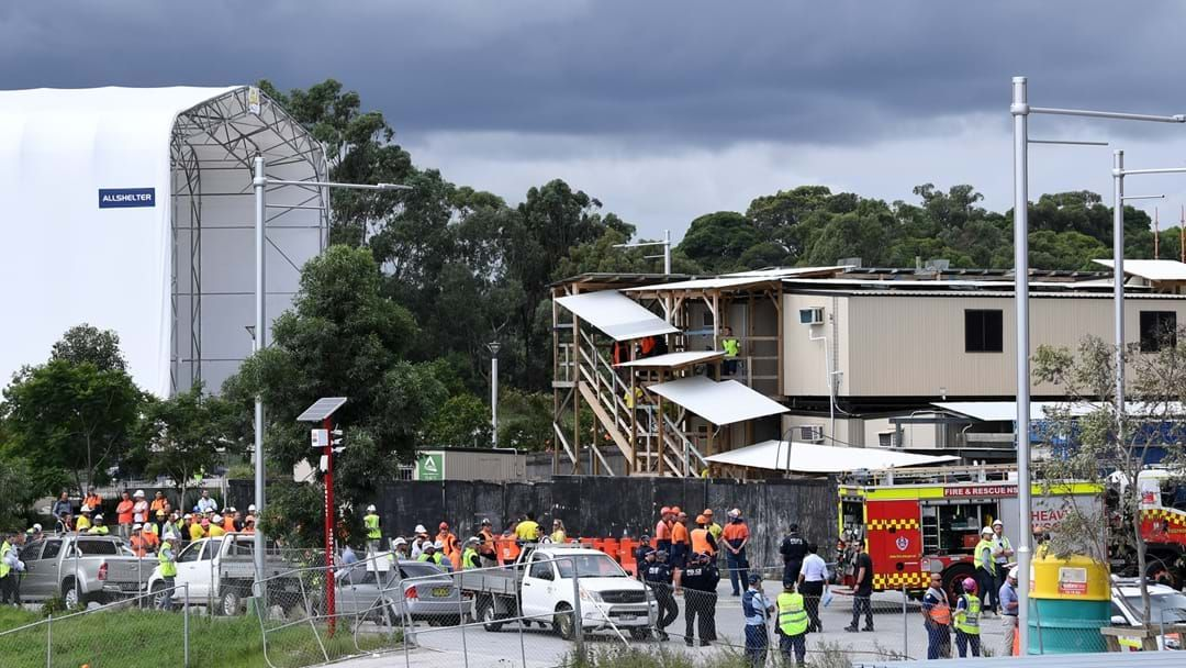 Article heading image for Man Dies After Scaffolding Collapsed On Workers At Macquarie Park