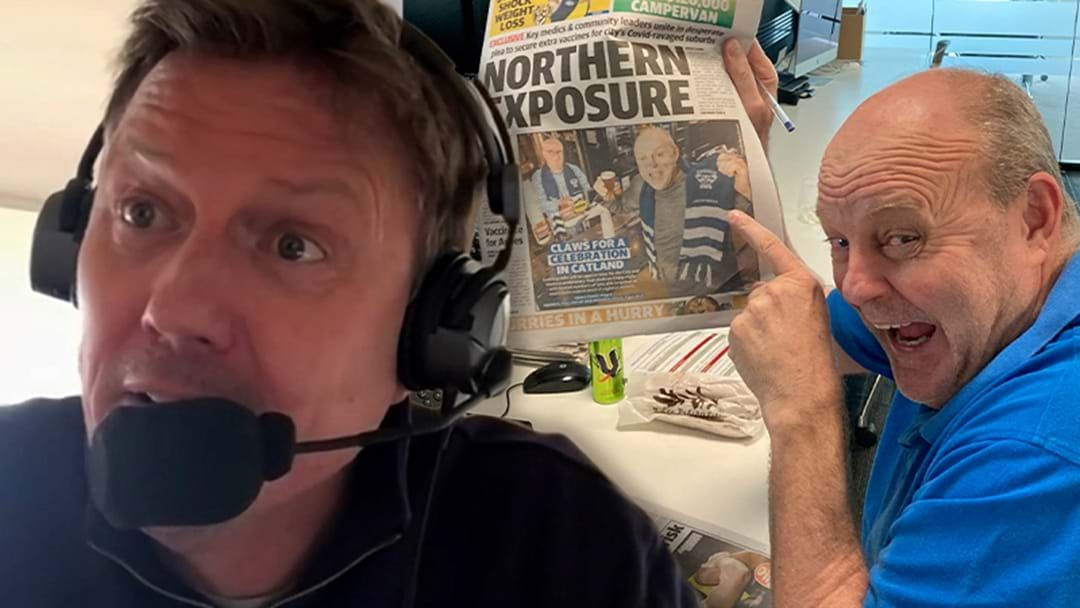 Article heading image for JB Gives Billy A Spray For His Herald Sun Front Page!