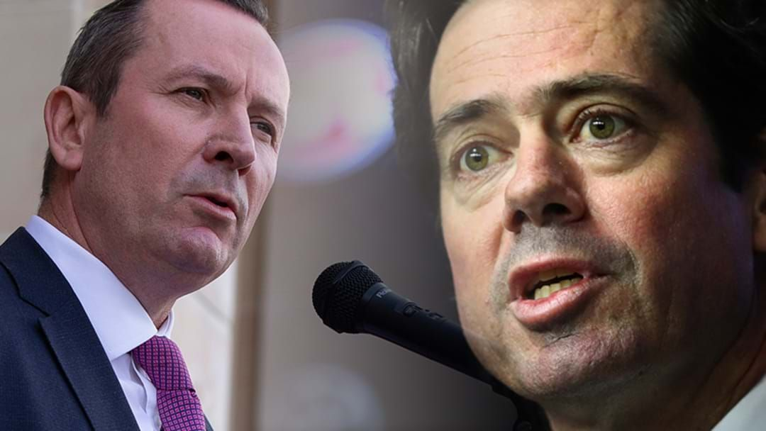Article heading image for McGowan: Not Interested In Compromising WA's Safety For The Grand Final
