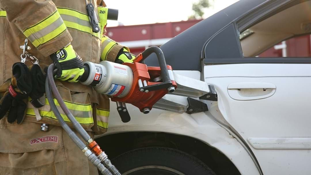 Article heading image for Jaws Of Life Used To Free Two People After Bilinga Crash