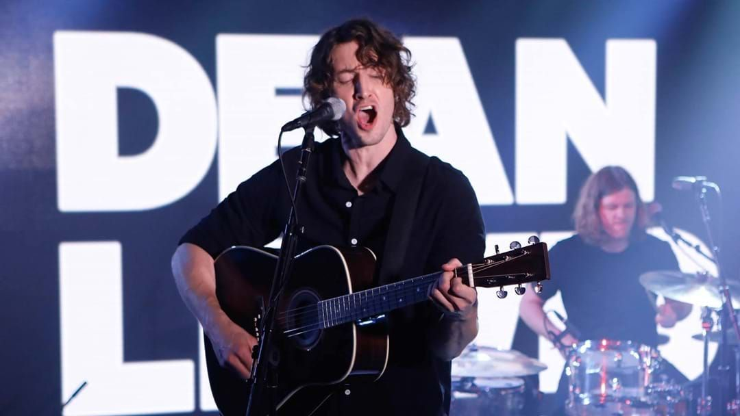 Article heading image for See Aussie Singer Dean Lewis WOW The Audience On Jimmy Kimmel