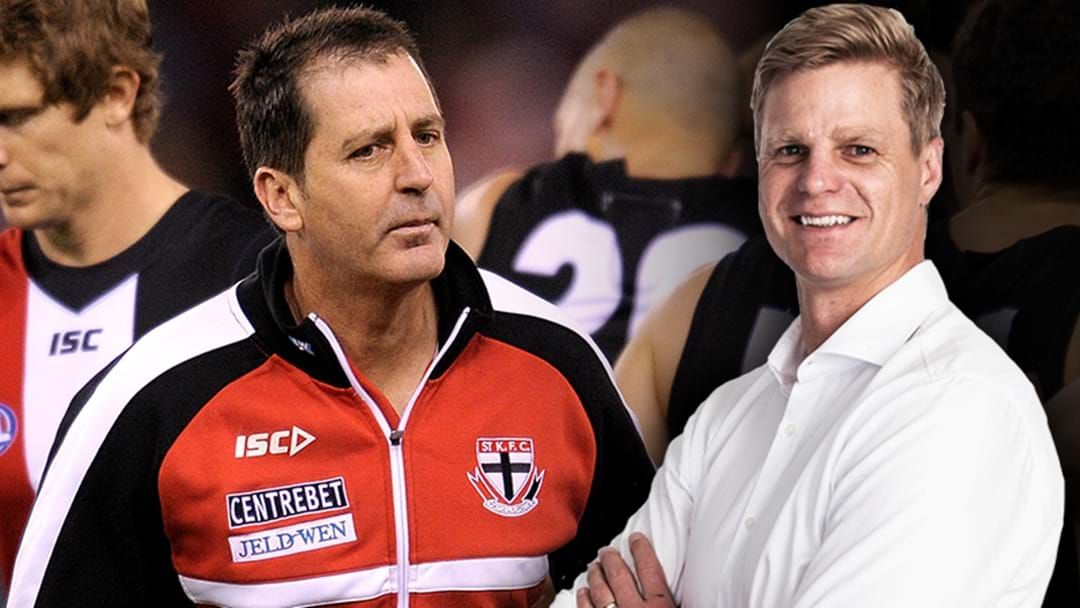 Article heading image for Nick Riewoldt Remembers Some Of Ross Lyon's Very Best One-Liners