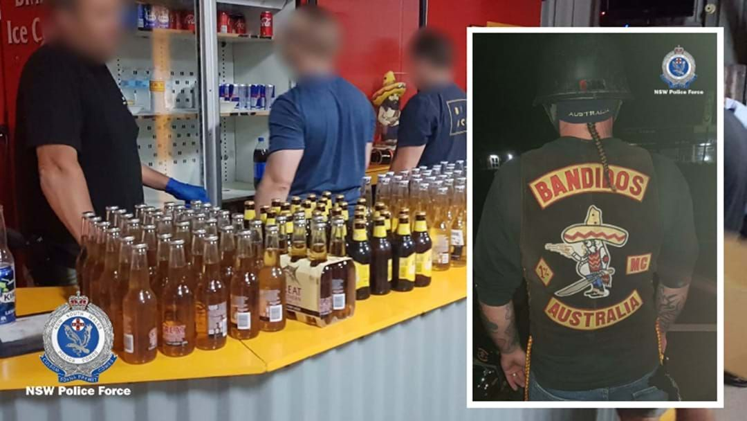 Article heading image for Drugs, Fireworks Recovered In Port Stephens Bikie Clubhouse Raid