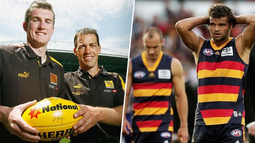 Article heading image for Xavier Ellis Recalls Getting In Trouble At The Footy With Clarko
