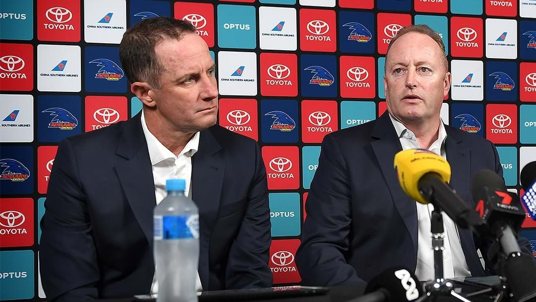 Article heading image for Adelaide Chairman Rob Chapman Outlines The Process To Find A New Coach