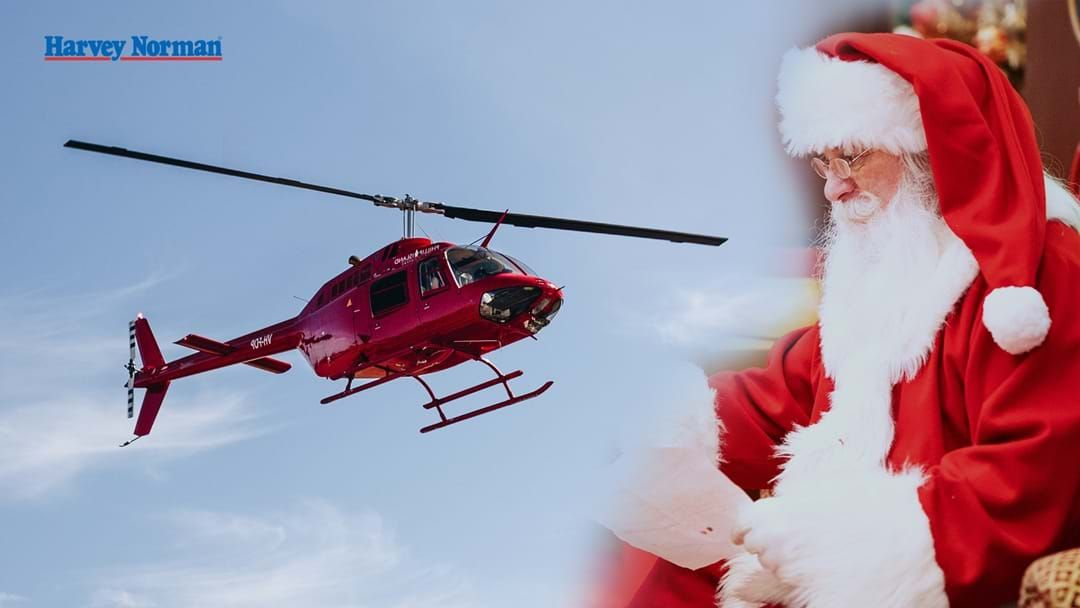 Article heading image for Santa Claus is coming to Busselton this weekend… in a helicopter!