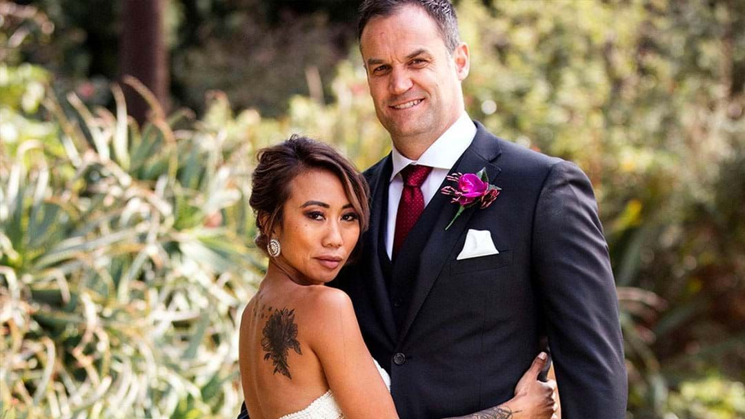 Article heading image for MAFS: Mark Confirms He Spent The Night With Ning After The Reunion