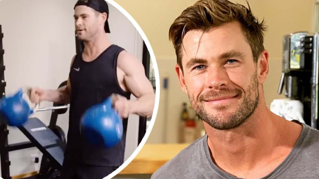 Article heading image for PSA: Chris Hemsworth's Fitness App Is Now Free & Suddenly I Want To Exercise At Home