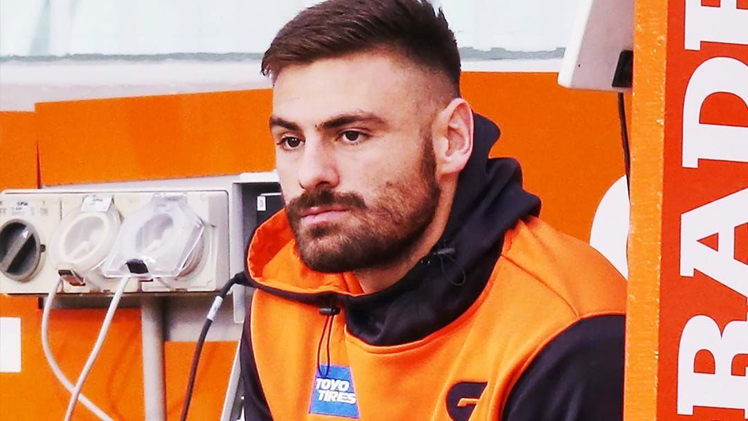 Article heading image for Ross Lyon Believes GWS 'Humiliated' Stephen Coniglio