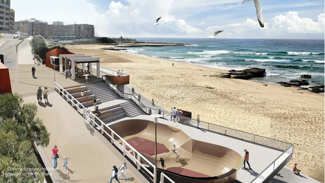 Article heading image for Council's Revamped Designs For Newcastle Beach Revealed