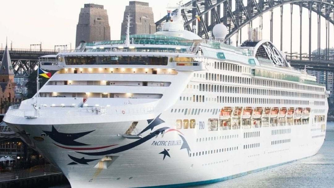 Article heading image for The P&O Pacific Explorer Is On It's Way To Gladstone