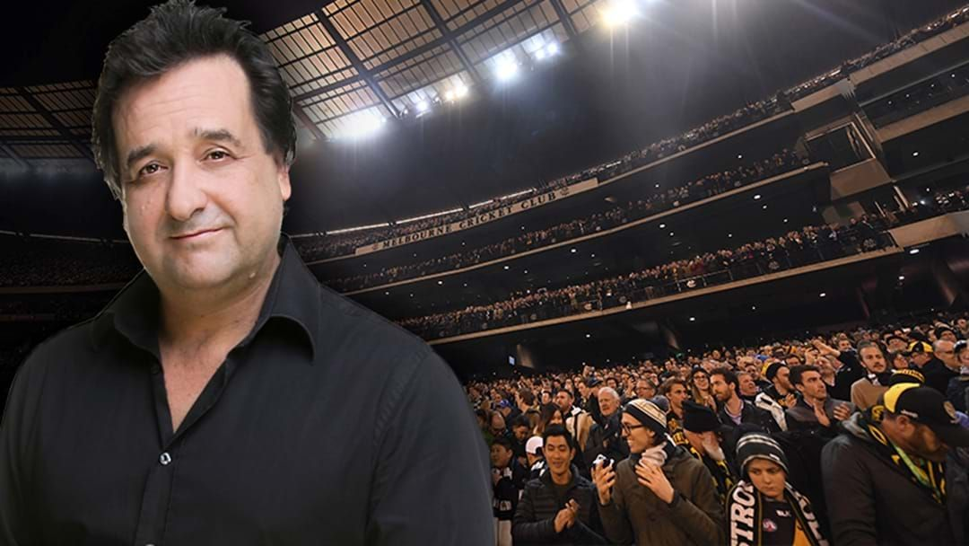 Article heading image for LISTEN | Mick Molloy Bakes The AFL!