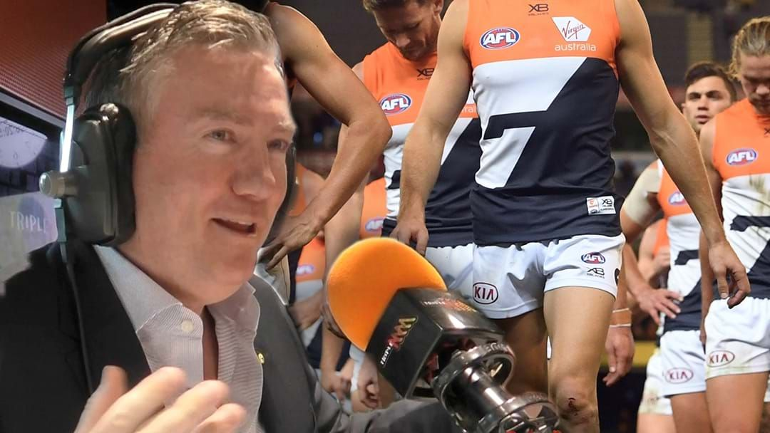 Article heading image for Eddie McGuire Reacts To GWS' Request For 'Cost Of Living Allowance'