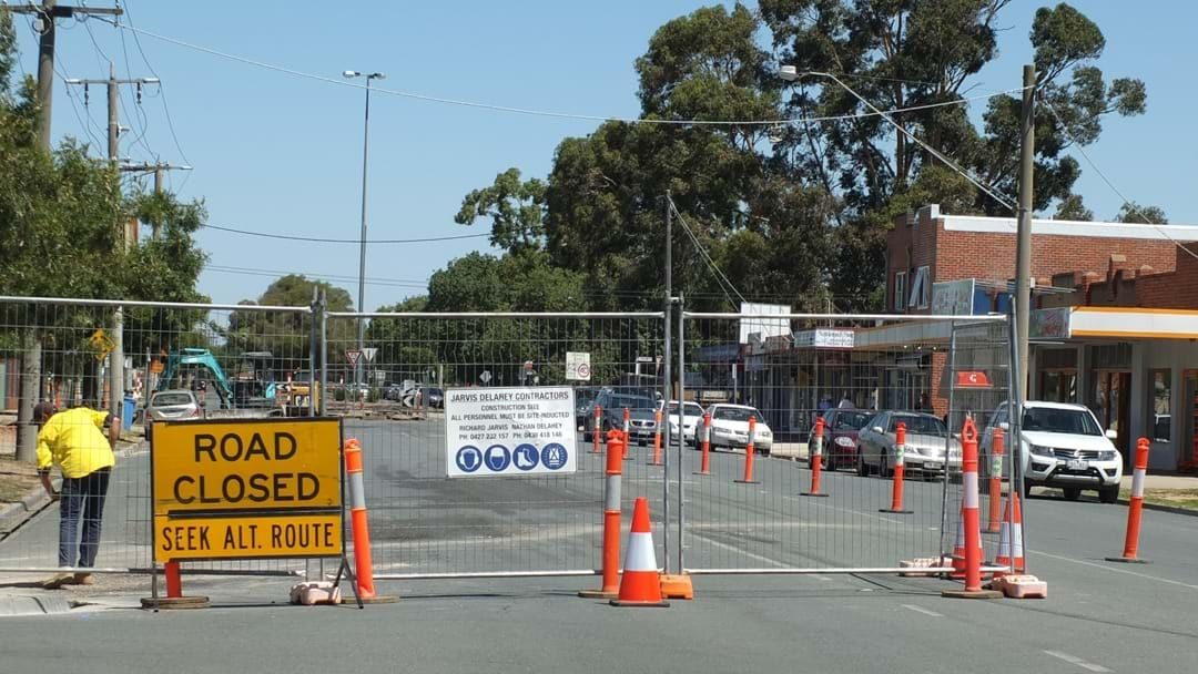 Article heading image for Be prepared for traffic delays on St Georges Road