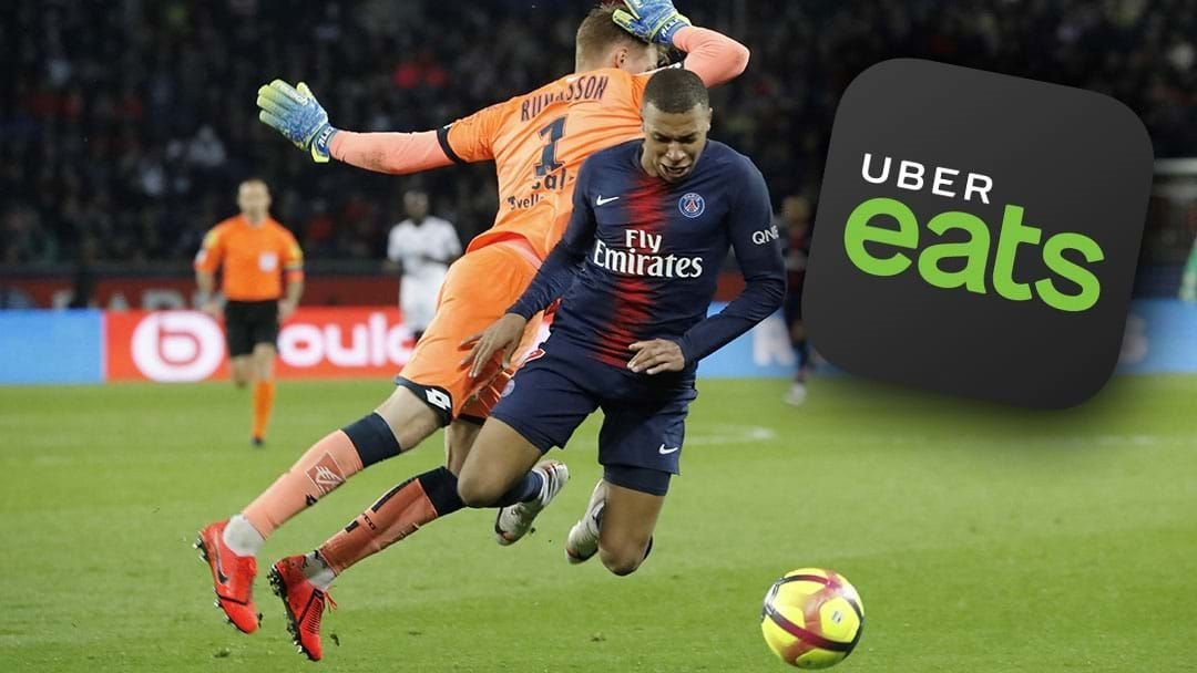 Article heading image for The French Soccer League Will Be Called 'Ligue 1 Uber Eats' From 2020