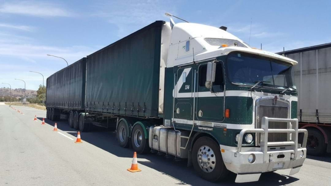 Article heading image for 119 Fatigue Law Breaches Detected During Heavy Vehicle Checks