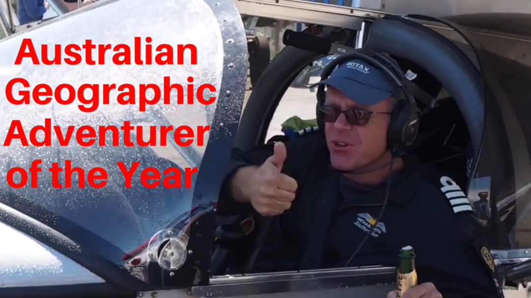 Article heading image for Australian Geographic Adventurer of the Year - Michael Smith