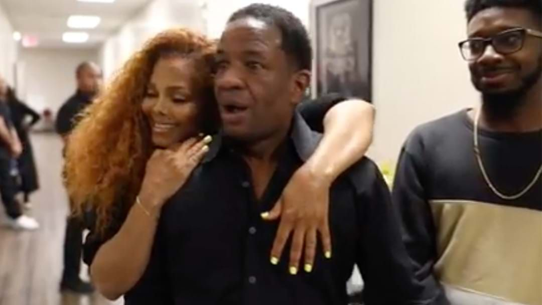 Article heading image for This Dad's Reaction To Meeting Janet Jackson Is Priceless
