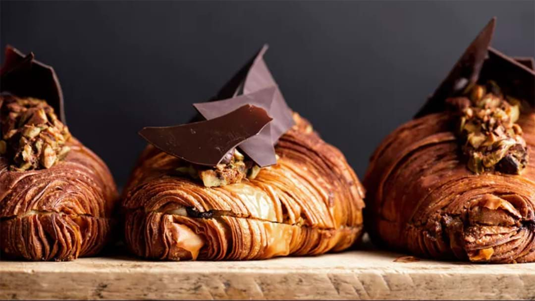 Article heading image for You Can Grab Lune's Limited Edition Pistachio & Dark Chocolate Croissant For Three Days Only This Weekend