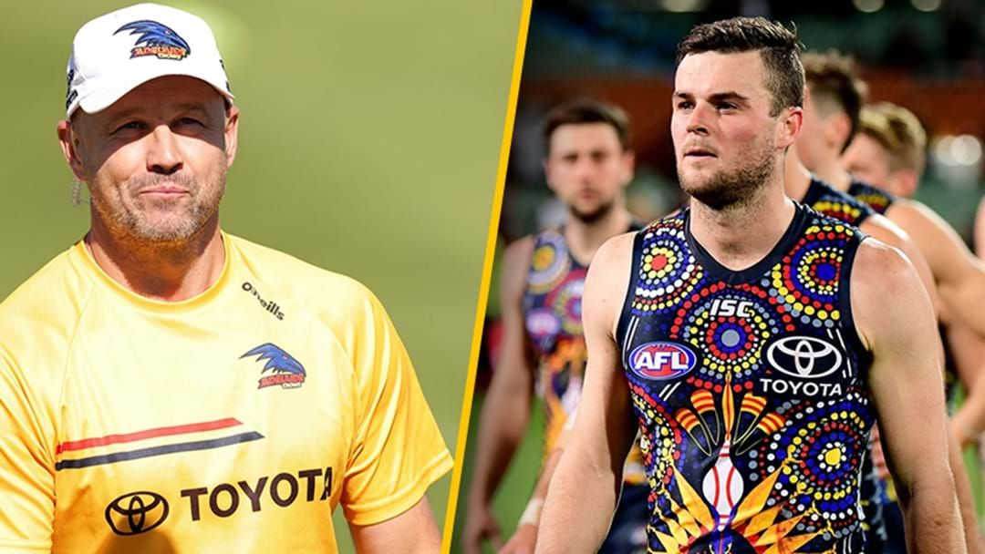 Article heading image for Mathew Nicks Responds To Brad Crouch's Criticism Of The Crows