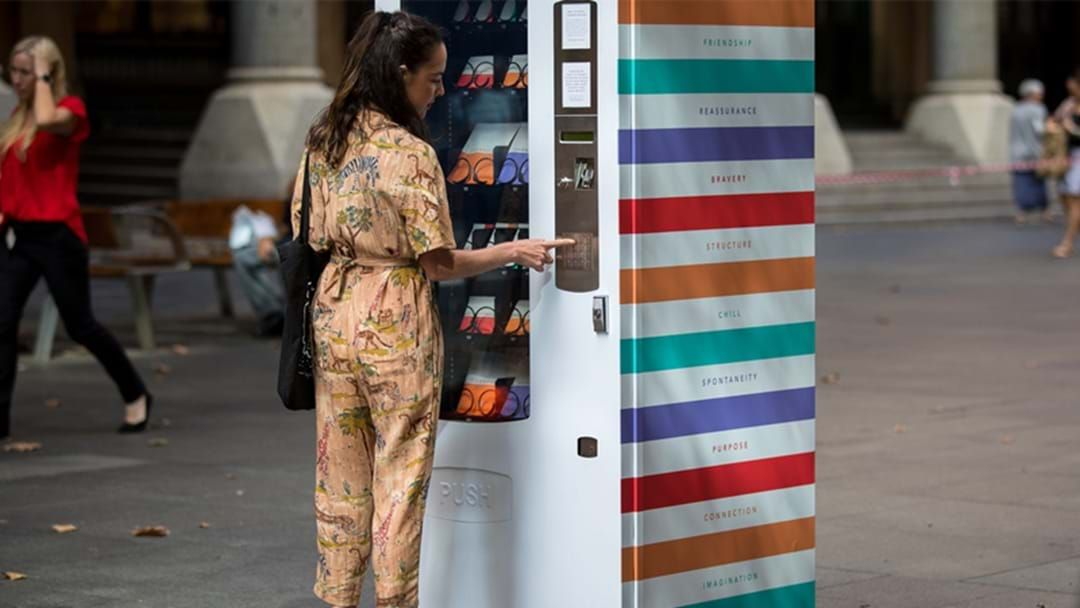 Article heading image for Mental Health Vending Machines Have Popped Up In Sydney