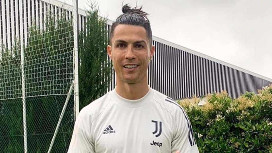 Article heading image for Christiano Ronaldo Has Tested Positive For COVID-19