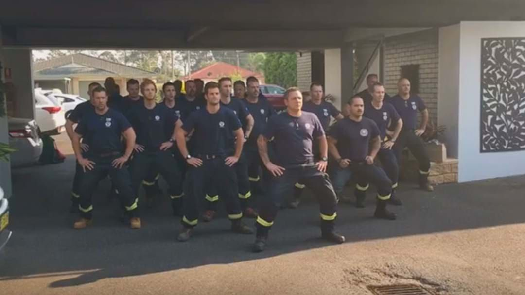 Article heading image for New Zealand Firies Perform The Haka After Assisting With The Bushfire Crisis
