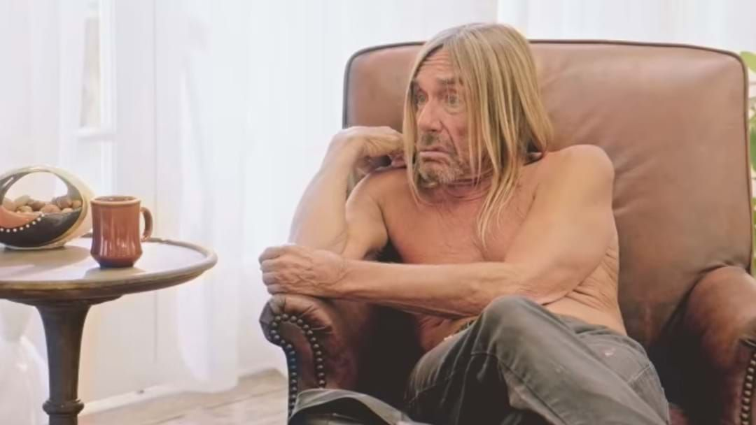 Article heading image for Iggy Pop Goes Next Level Weird In New Coffee Commercial