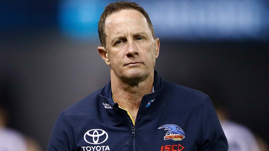 Article heading image for Adelaide Provide Statement On Don Pyke Departure