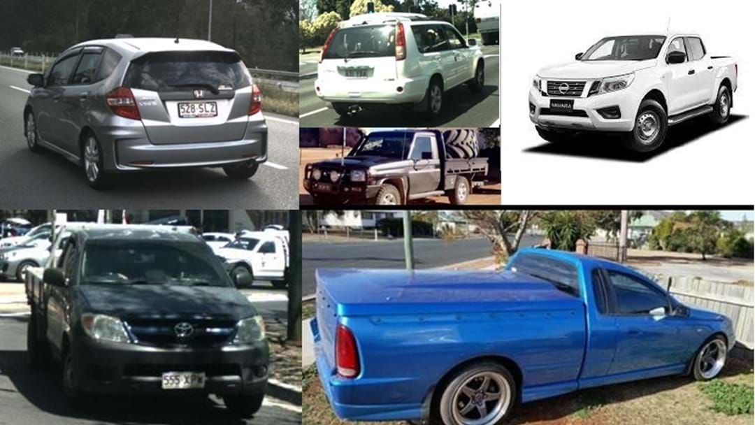 Article heading image for These Cars Have All Been Stolen from the Darling Downs Area