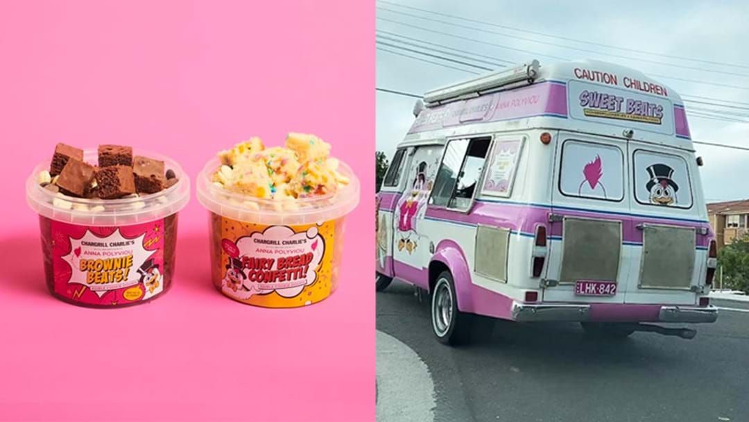 Article heading image for A Chargrill Charlie's Truck Is Delivering Cookie Dough & Ice Cream Through Sydney Today
