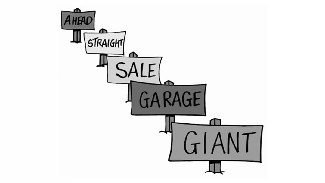Article heading image for Warwick's Biggest EVER Garage Sale