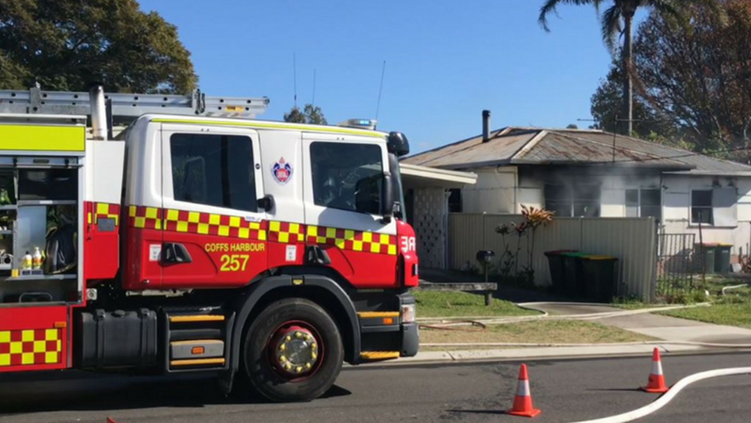 Article heading image for Fire Destroys House in Coffs Harbour