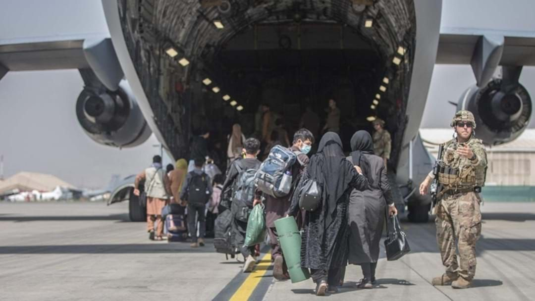 Article heading image for 100 Refugees Fleeing Taliban Ruled Kabul Land Safely In Adelaide