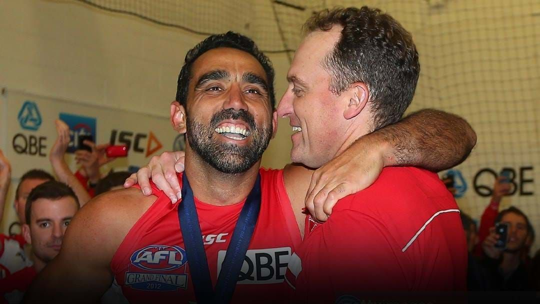 Article heading image for John Longmire On Adam Goodes Making His Own Decision