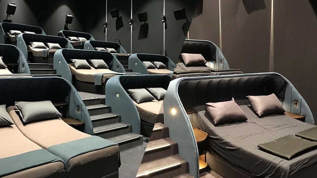 Article heading image for This Cinema Replaced All Its Seats With Luxurious Double Beds